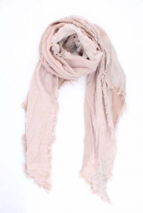 """Sjaal """"Wieber"""" roze"""