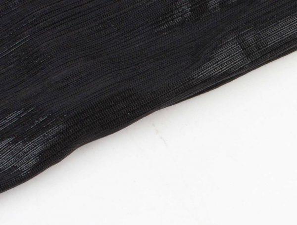 "Sjaal ""Uni stropdas"" zwart - Indini"
