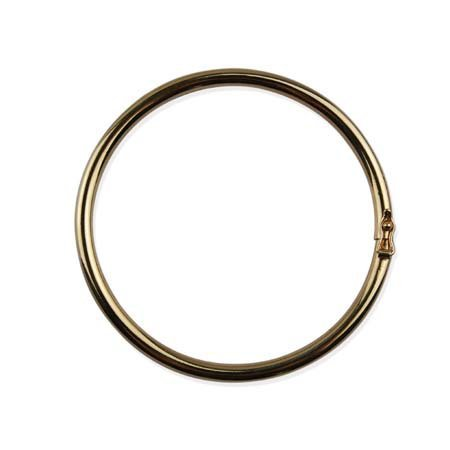 Ronde Schakel Armband - Oval - Goud