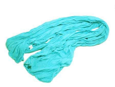 "Sjaal ""Uni Jersey S"" turquoise"
