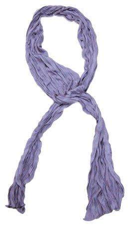 Kleine Jersey-Stof Sjaal - Lavendel (Smal - S)