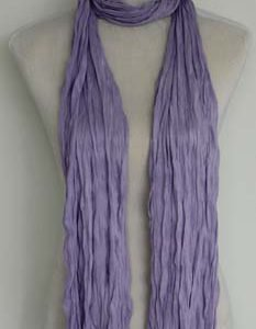 Kleine Jersey-Stof Sjaal - Deep Purple (Smal - S)