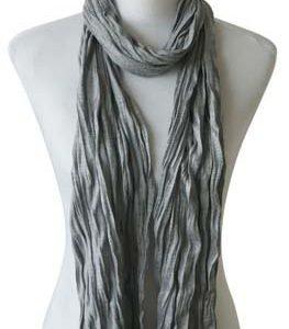 """Sjaal """"Uni Jersey S"""" grijs melee"""