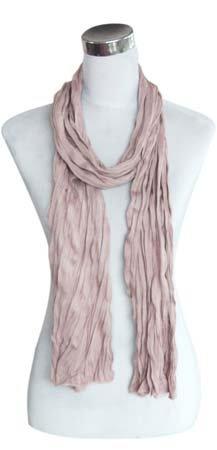 Kleine Jersey-Stof Sjaal - lavender rose