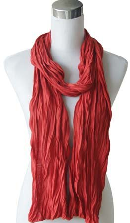 "Sjaal ""Uni Jersey S"" blood rood"