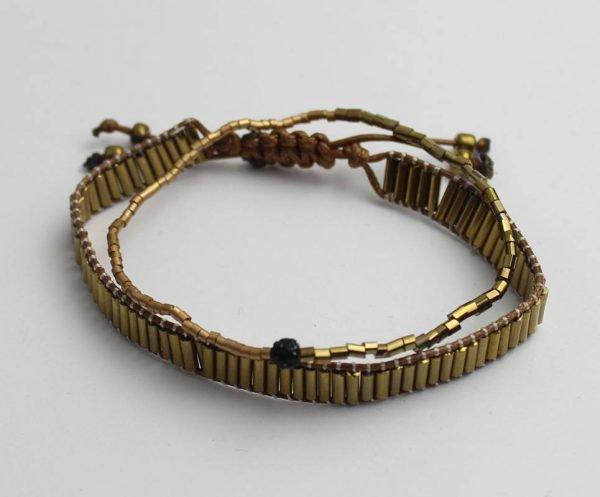Moderne Schakelarmband - Beads